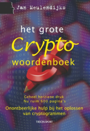 Het grote Cryptowoordenboek onontbeerlijke hulp bij het oplossen van cryptogrammen , J. Meulendijks  Serie: Tien voor taal