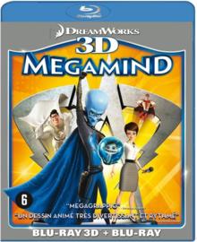 Megamind [bd/3d] (No Subs) (Blu-ray is niet afspeelbaar in normale DVD-spelers!) Stemmen orig. versie: Ben Stiller