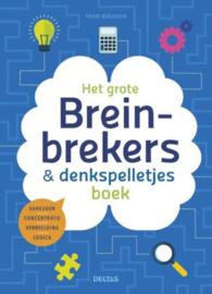 Het Grote Breinbrekers- en Denkspelletjesboek geheugen - concentratie - verbeelding - logica , Pierre Berloquin