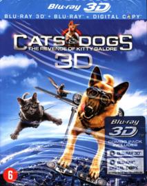 Cats & Dogs 2: De Wraak Van Kitty Galore (3D & 2D Blu-ray) (Blu-ray is niet afspeelbaar in normale DVD-spelers!) ,  Chris O'Donnell