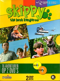 Skippy The Bush Kangaroo -16 avonturen op 2 DVD's
