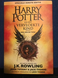 Deel een en twee Harry potter en het vervloekte kind Nederlandse vertaling van Harry Potter and the Cursed Child - Geschreven in scriptvorm , J.K. Rowling