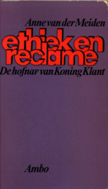 Ethiek en reclame ,  A. van der Meiden