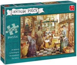 Anton Pieck De Bakkerij - Puzzel - 1000 stukjes , Jumbo