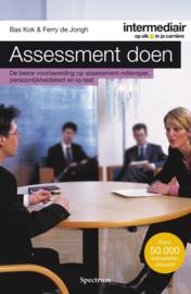 Intermediair - Assessment doen de beste voorbereiding op assessment rollenspel, persoonlijkheidstest en IQ-test ,  Bas Kok