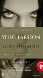 Millennium 3 - Gerechtigheid Luisterboek voorgelezen door Ron Brandsteder , Stieg Larsson  Serie: Millennium