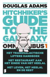 Hitchhiker's guide - The hitchhiker's Guide to the Galaxy - omnibus 1 Het transgalactisch liftershandboek, Het restaurant aan het einde van het heelal en Het leven, het heelal en de rest , Douglas Adams Serie: Hitchhiker'S Guide