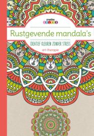 Rustgevende mandala's creatief kleuren zonder stress