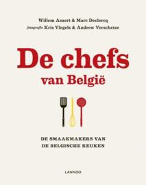 De chefs van Belgie de smaakmakers van de Belgische keuken , Willem Asaert