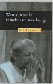 Waar zijn we in hemelsnaam mee bezig ? , J. Krishnamurti