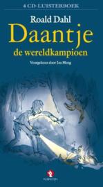 Daantje de wereldkampioen (4 cd Luisterboek) Luisterboek voorgelezen door Jan Meng , Roald Dahl