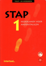 Stap 1 - Tekst-En Werkboek + Cd Tekst-/werkboek + audio-cd Nederlands/NT2 , Jeanine Roos