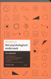Het psychologisch onderzoek een oefenboek ,  Wim Bloemers