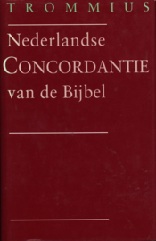 Nederlandse Concordantie Bijbel ,  A. Trommius