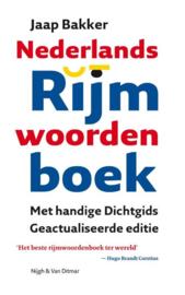 NEDERLANDS RIJMWOORDENBOEK geactualiseerde editie , Jaap Bakker