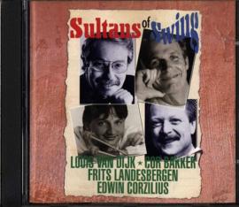 1-CD LOUIS VAN DIJK / COR BAKKER / FRITS VAN LANDESBERGEN / EDWIN CORZILIUS - SULTANS OF SWING ,  Louis Van Dijk / Cor Bakker / Frits Van Landesbergen