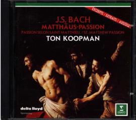 Bach: Matthäus-Passion ,  Ton Koopman