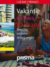 Vakantiecursus Italiaans (luisterboek) , Rosanna Colicchia  Serie: Prisma taalcursus