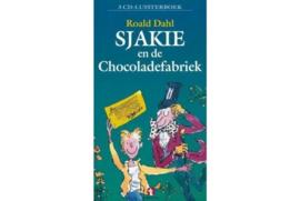 Sjakie en de chocoladefabriek - 3 cd luisterboek luisterboek - Een hoorspel met o.a. de stem van Jan Meng, meesterverteller. , Roald Dahl