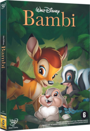 Bambi Disney Classics no. 5 Stemmen orig. versie: Hardie Albright Serie: Walt Disney Classics Collection