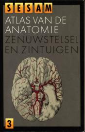 Sesam atlas van de anatomie deel 3: Zenuwstelsel en zintuigen , W. Kahle