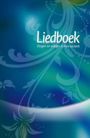 Liedboek blauw/groen zingen en bidden in huis en kerk ,  Diverse auteurs