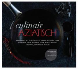 Culinair Aziatisch maak kennis met authentieke smaken uit Birma, China, Filippijnen, India, Indonesië, Japan, Korea, Maleisië, Singapore, Thailand en Vietnam , Marlisa Szwillus