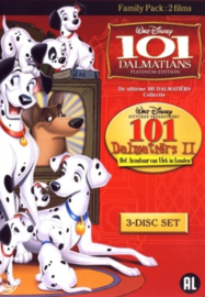 101 Dalmatiërs en 101 Dalmatiërs II (3DVD) Uitgever: Walt Disney Studios Home Entertainment