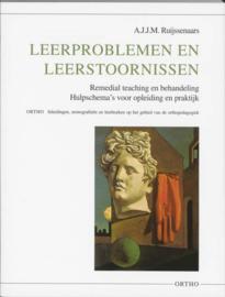 Ortho - Leerproblemen en leerstoornissen remedial teaching en behandeling : hulpschema's voor opleiding en praktijk , A.J.J.M. Ruijssenaars Serie: Ortho