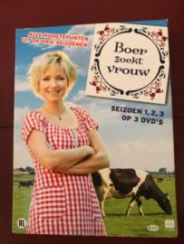 Boer zoekt vrouw, Seizoen 1,2,3 op 3 DVD's
