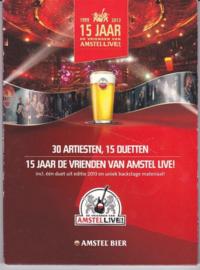 DVD 15 jaar Vrienden van Amstel Live! ,  Various