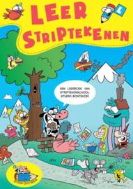 Leer striptekenen een leerboek van striptekenschool studio Bontekoe , Gerben Bontekoe