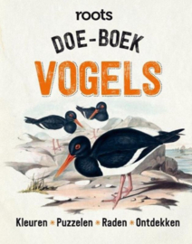 Doe-boek vogels Kleuren Tekenen Raden Ontdekken , Roots