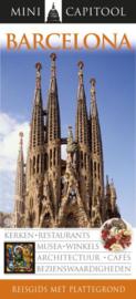 Capitool Mini Barcelona + uitneembare kaart reisgids Uitgever: van Reemst  Serie: Mini Capitool