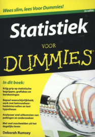 Voor Dummies - Statistiek voor Dummies , Deborah Rumsey  Serie: Voor Dummies