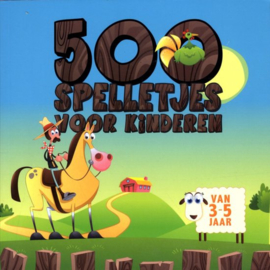 500 Spelletjes voor kinderen 3-5 jaar