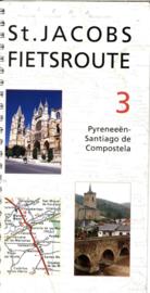 ST.JACOBS FIETSROUTE 3 PYRENEEEN-SANTIAGO DE COMPOSTELA ,  Clemens Sweerman