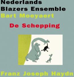 De Schepping , Bart Moeyaert Nederlands Blazers Ensemble Serie: Nbelive