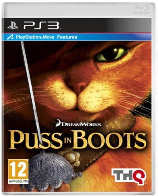 Puss in Boots (PlayStation Move) Beleef een verhaal dat maar eens in negen levens voorbijkomt!  THQ