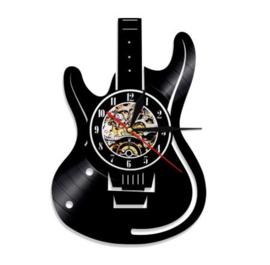 Vinyl klok Gitaar