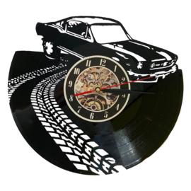 Vinyl klok Auto