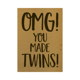 OMG! You made twins!, per 5 stuks