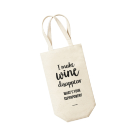 Wijntas - I make wine disappear. What's your superpower? Per 5 stuks