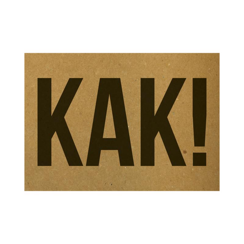KAK!, per 5 stuks