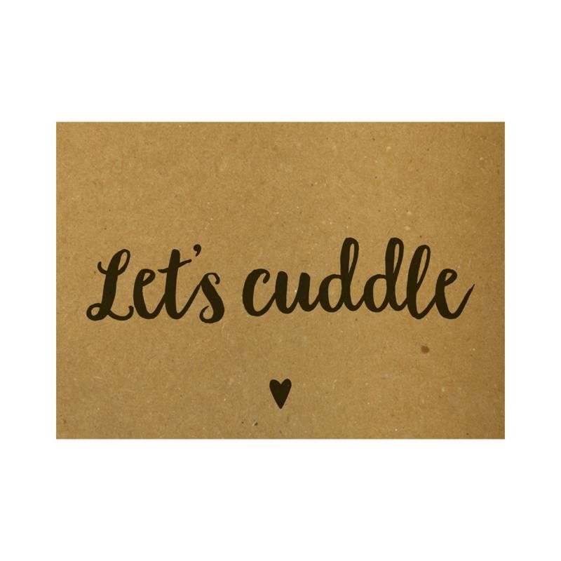Let's cuddle, per 5 stuks
