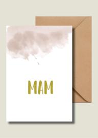 Mam - goudfolie