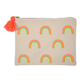 MERI MERI | CANVAS POUCH | RAINBOW