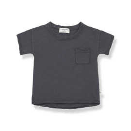 1+ IN THE FAMILY | NANI SHORT SLEEVE T-SHIRT | ANTHRACITE