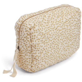 Konges Slojd | Big Quilted Toilettry Bag | Buttercup Yellow