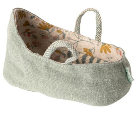 MAILEG | CARRY COT | DUSTY GREEN